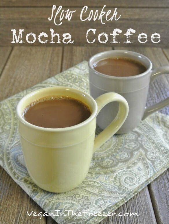 Slow Cooker Mocha Coffee Pin Word