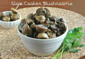 Slow Cooker Mushrooms Bright Word