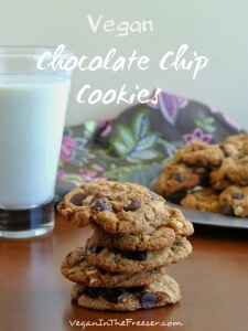 Vegan Chocolate Chip Cookies Pin Word