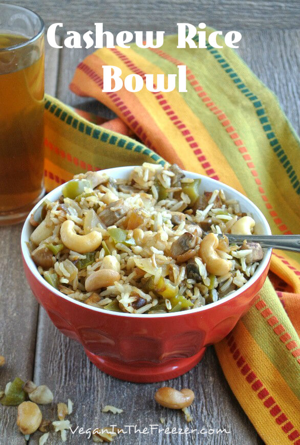 Cashew Rice Bowl Pin Word