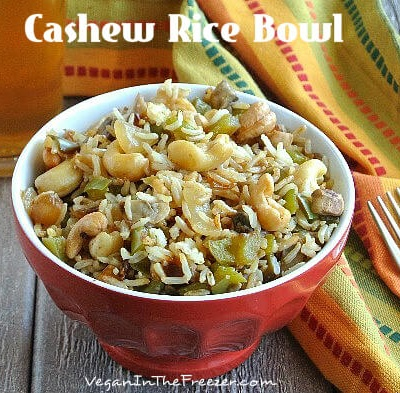 Cashew Rice Bowl