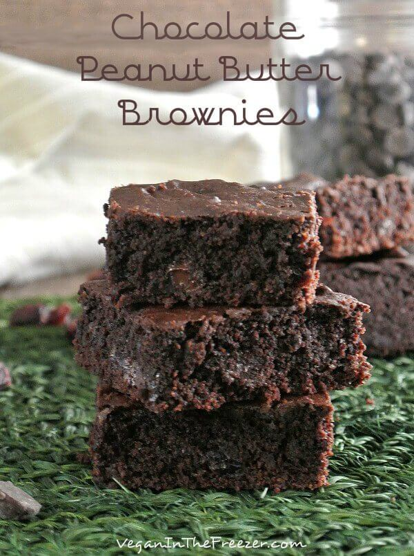Chocolate Peanut Butter Brownies with chocolate pieces and cranberries are extra special. Can you imagine all of those flavors in one bite? Scrumptious!