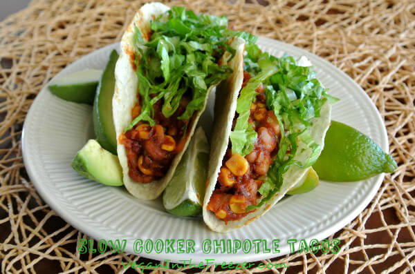 Slow Cooker Chipotle Tacos Front