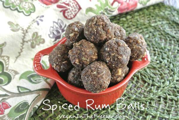 Spiced Rum Balls Word
