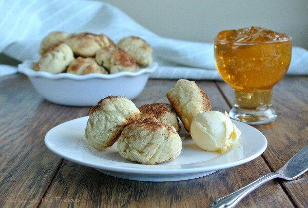 Cinnamon Cookie Biscuits are Light and fluffy texture and they can be eaten for breakfast or as a snack later in the day. image