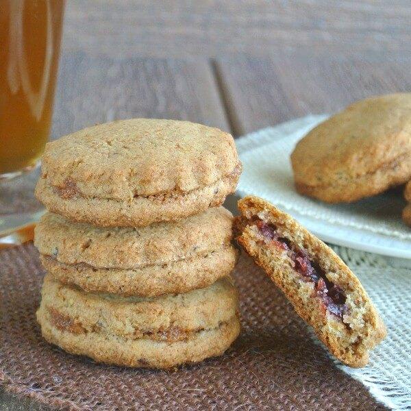 Raisin Filled Sandwich Cookies