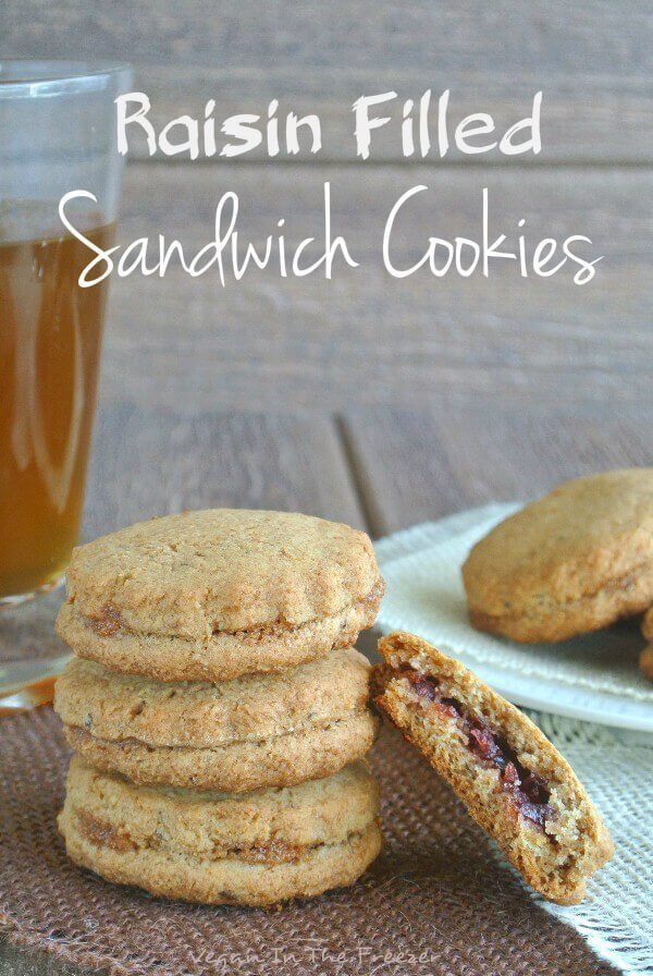 Raisin Filled Sandwich Cookies are actually an old fashioned cookie recipe that has been updated with a RICH JAM filling - really makes them special.