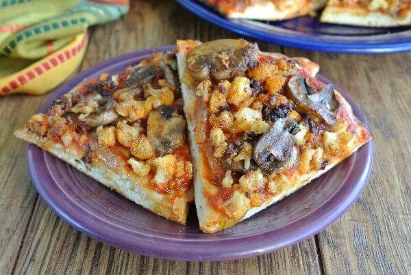 Roasted Veggie Pizza!