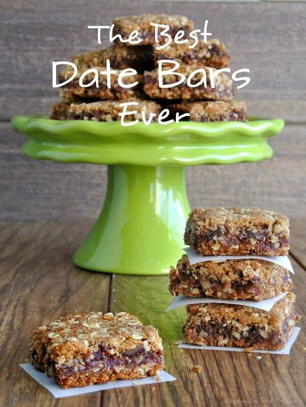 Best Date Bars Ever are two layers of a delectable oatmeal crust that ...