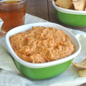 Chipotle Hummus has just enough pazazz to add a little kick to your dip.