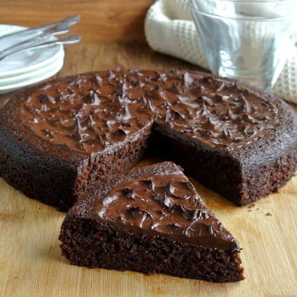 Decadent Chocolate Torte is a special dessert.