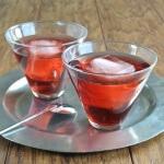Pomegranate Swizzle
