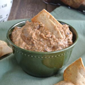Spicy Black Bean Hummus has a delicious flavor -with creamy chickpeas and black beans.
