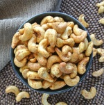The Best Slow Cooker Spiced Cashews