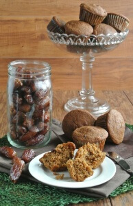 Everybody needs a good healthy Date Bran Muffins Recipe! The dates bring a wonderful sweetness and these little gems are so good with or without a topping.