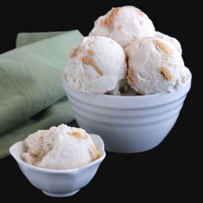 Maple Peanut Butter Ice Cream