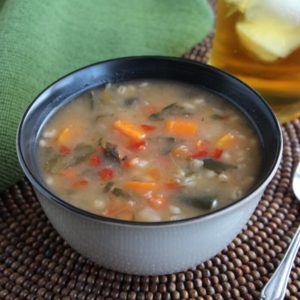 Vegetable Barley Soup is a great mix-up for your hearty and satisfying soup repertoire.