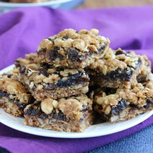 Over the Top Raisin Crumb Bars have 3 distinct layers with different textures and taste.