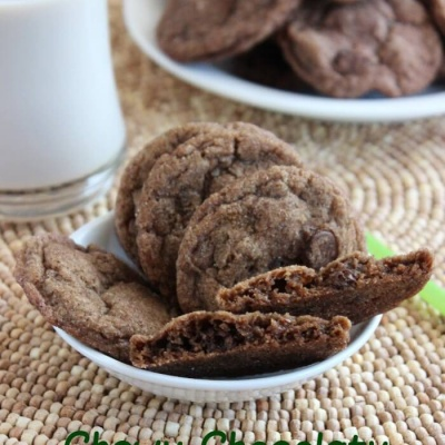 Chewy Chocolaty Cookies