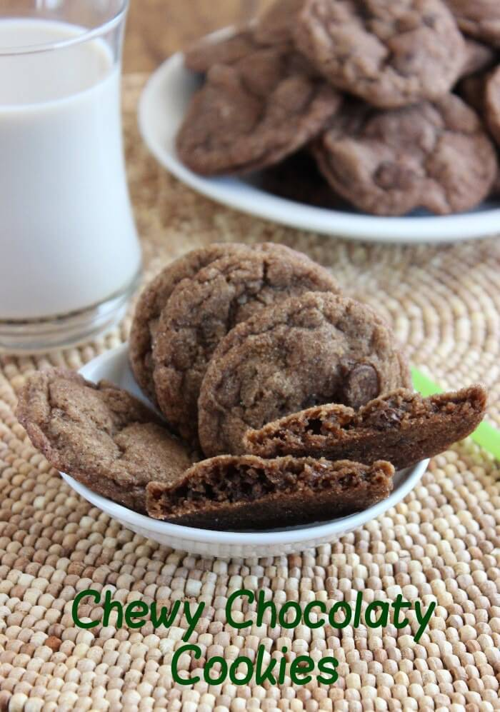 It is time for some softly Chewy Chocolaty Cookies! A chocolate explosion in every bite. Simple to make and easier to eat.