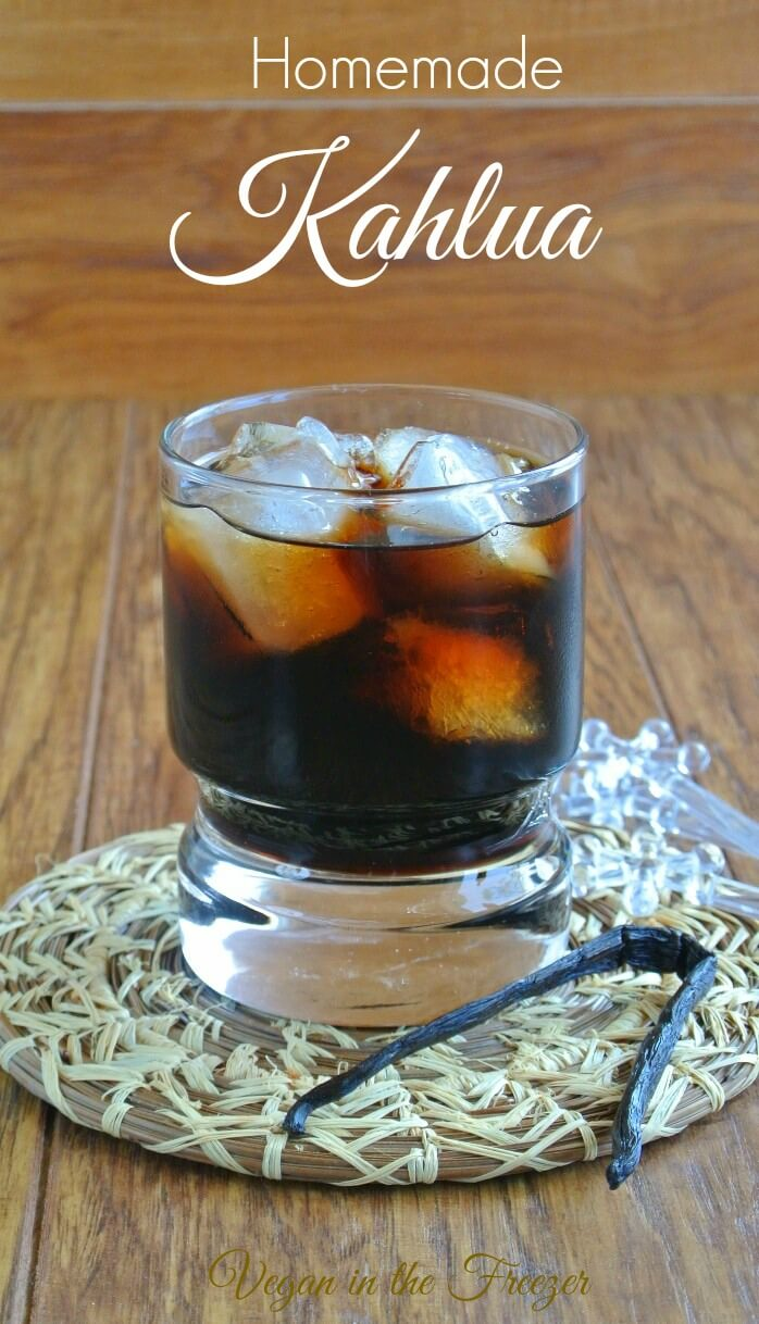 Homemade Kahlua has a perfect balance of sweetness that is shared with coffee and rum. Doesn't it sound good already? Aged for 2 to 3 weeks.