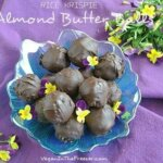 Rice Krispie Almond Butter Balls