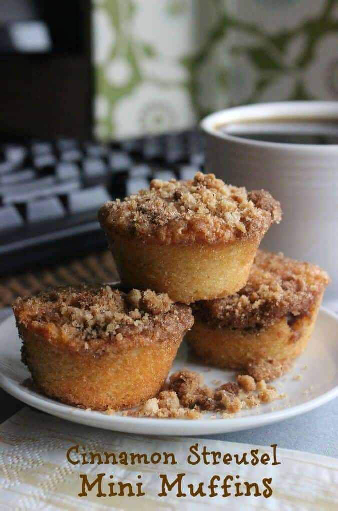 Cinnamon Streusel Mini Muffins Recipe Vegan In The Freezer