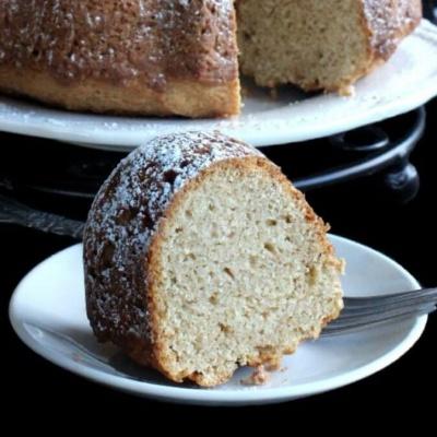 Sugar Free Tropical Bundt Cake