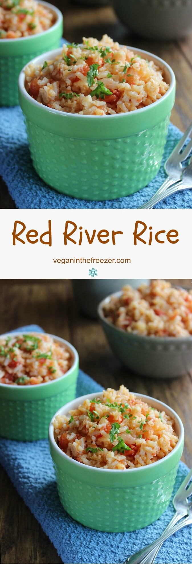 Red River Rice is simple and versatile and something the whole family will enjoy.  After the rice is complete you can even toss in sauteed zukes.