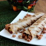 Grilled Barbecue Tortilla Wraps