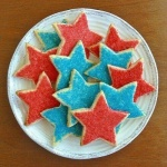 Stars Shortbread Cookies will add a lot of color to your table and put smiles on all the faces. image