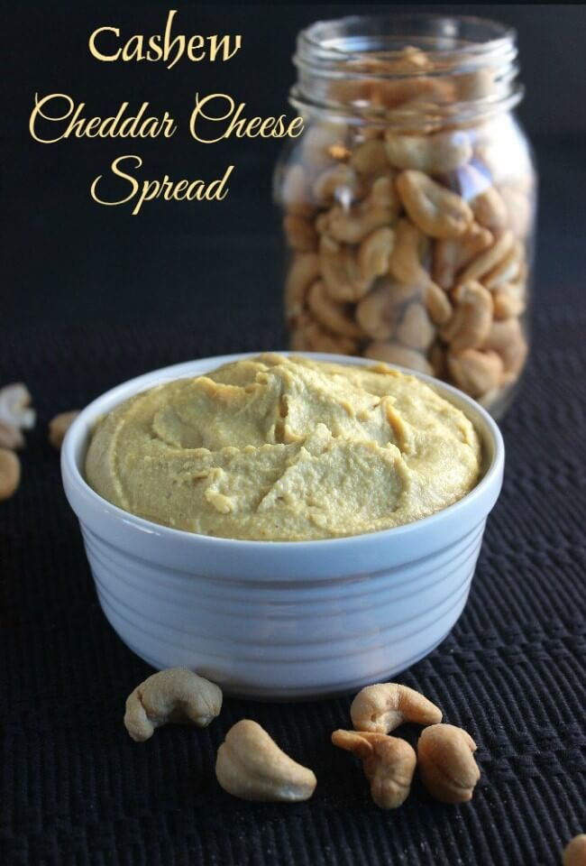 Cashew Cheddar Cheese Spread is simple and versatile. The sharp flavor of cheddar but no dairy! Use it in casseroles, on tacos and even as a dip.