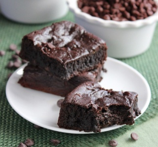 Crazy Brownies bake up rich and chocolaty and taste just like the best fudgy brownies you have ever had.