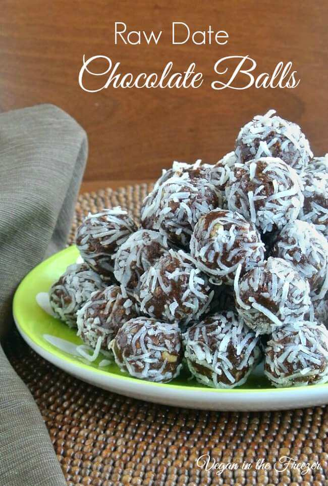 Raw Date Chocolate Balls are made with the best variety of ingredients - sweet, crunchy and chocolaty.