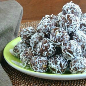 Raw Date Chocolate Balls are made with the best variety of ingredients!