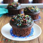 Party Triple Chocolate Cupcakes