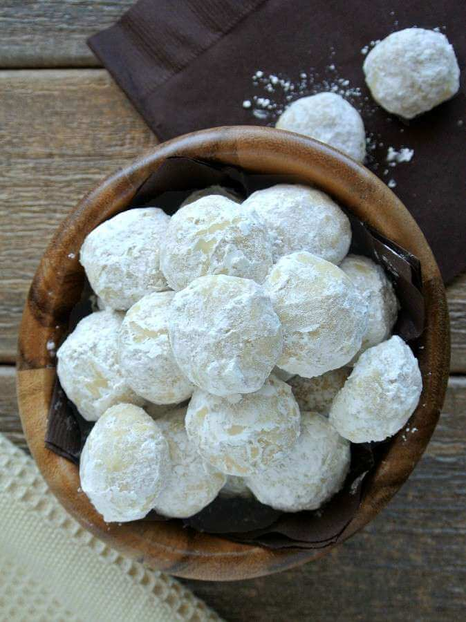 The simplicity of Mexican Wedding Cookie makes them accessible to everyone - right out of their own oven.