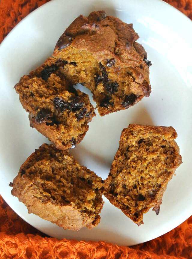 Pumpkin Muffins are a great addition to your muffin repertoire. There is even a different texture with pumpkin muffins - they seem more moist in a silky kind of way.