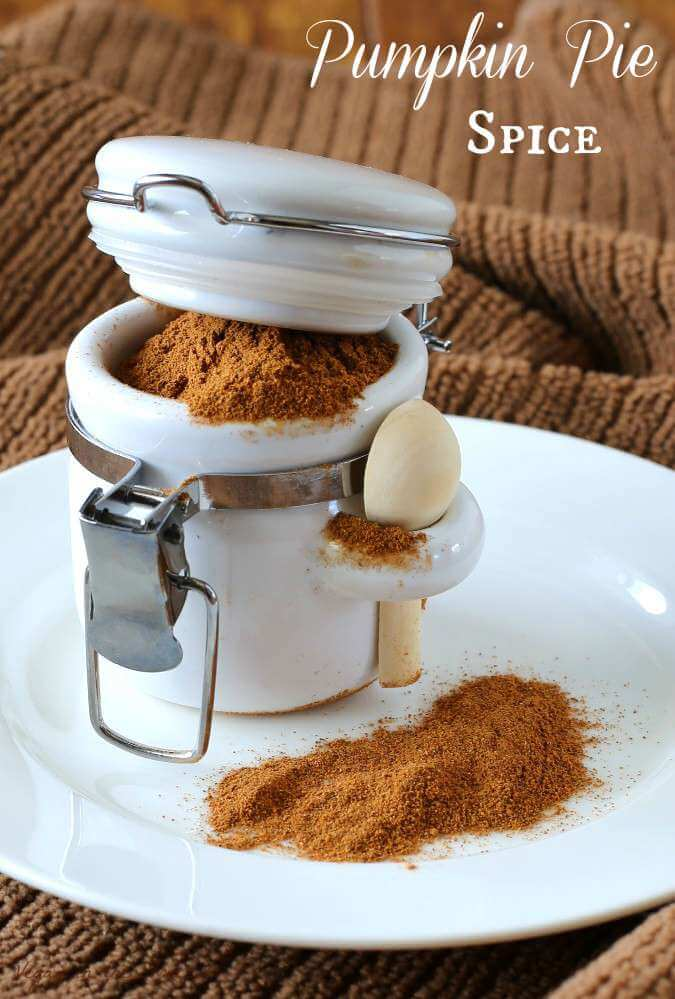Homemade Pumpkin Pie Spice can be made in minutes with ingredients you probably already have. Add it to latte's, sweet spiced nuts, spiced popcorn and more.