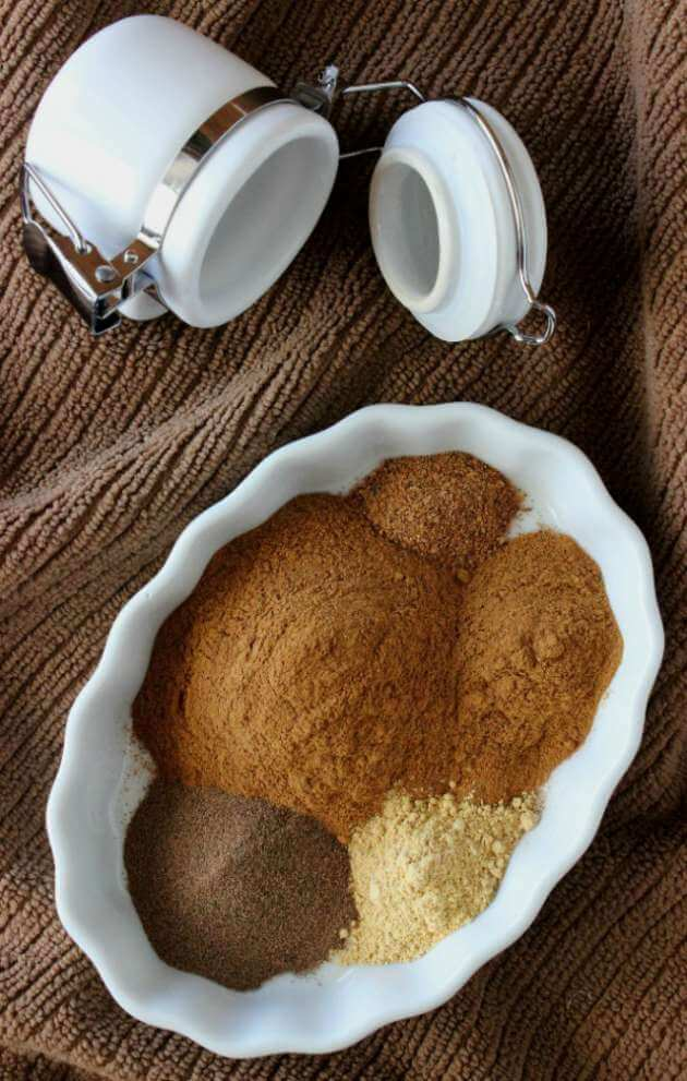 Homemade Pumpkin Pie Spice can be made in minutes with ingredients you probably already have. Add it to endless receipes.