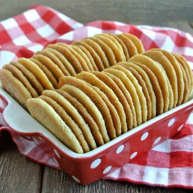Cinnamon Sugar Cookies sweet goodness are so easy and they make you smile as you are licking the cinnamon sugar off your lips.