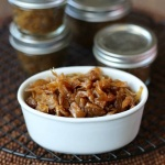 Slow Cooker Caramelized Onions can be made ahead of time and are easy to freeze. Rich, sweet and flavorful vegetable.