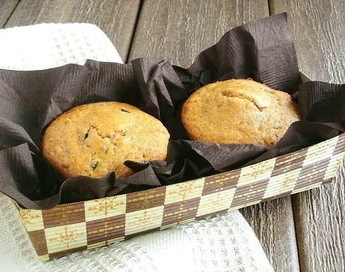 Espresso Chocolate Chip Muffins are deep rich muffins - just what they sound like.