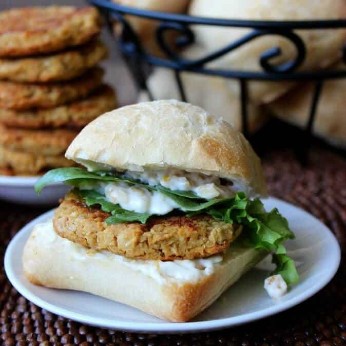 Baked Falafel makes a fantastic sandwich and is healthier than the deep fried version.