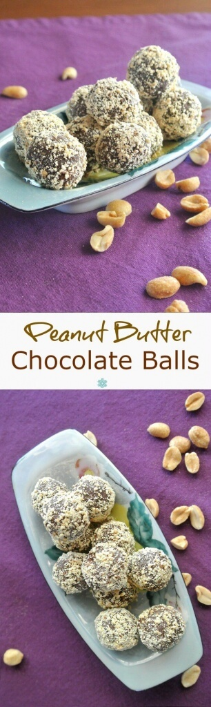 These little chocolate candy balls only have 3 ingredients. Delicious and can be casual or elegant but always simple and fast!