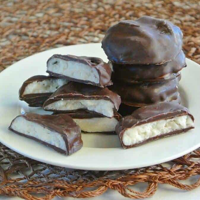 Homemade Peppermint Patties are so simple and as pure as a candy can be.