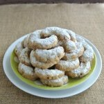 Almond Crescents are crazy good cookies.