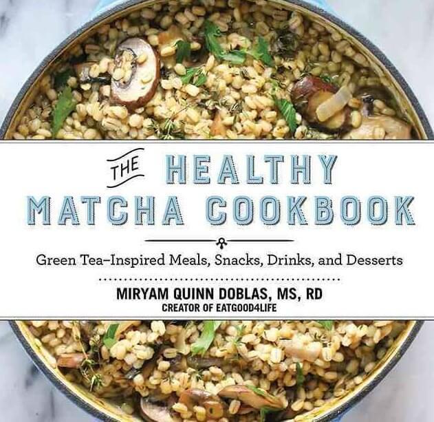 The Healthy Matcha Cookbook by Miryam Quinn-Doblas