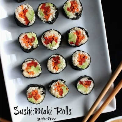Grain-free Sushi Maki Rolls