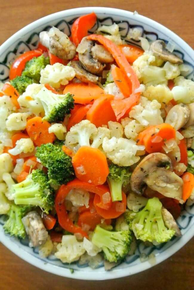 Vegetable Jumble is a mixture of all the best and most popular vegetables. What makes it stand out are the spices that are added.